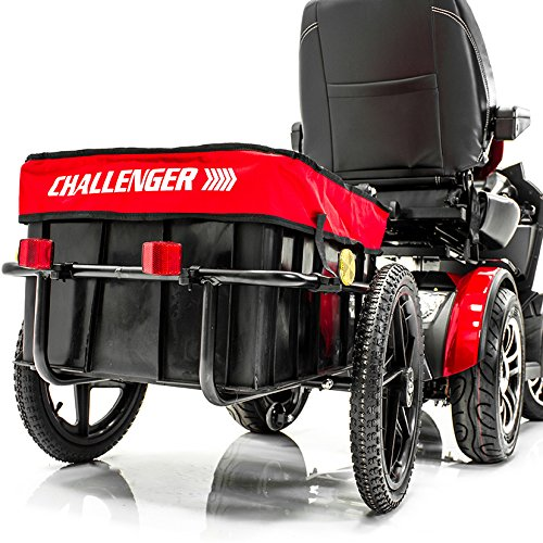 Challenger Hardtop - Challenger Mobility Scooter Trailer for Pride Mobility Scooters Heavy Duty Large Tires
