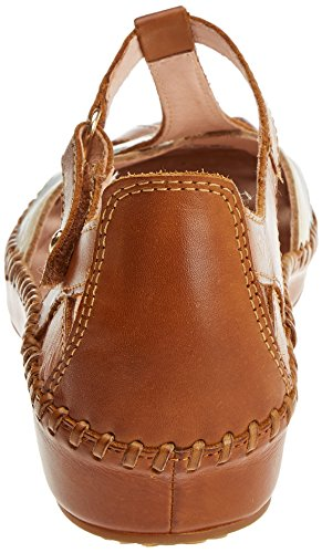 Pikolinos Women's P. Vallarta 655 Ankle Strap Sandals Brown (Brandy) Manchester cheap online 068MbNb
