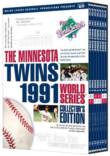 1991 World Series Dvd (Twins 1991 World Series)