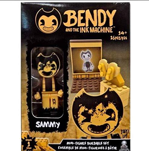 (Bendy The Ink Machine Basic Fun Sammy Buildable Mini-Figure Set (26 Pieces))