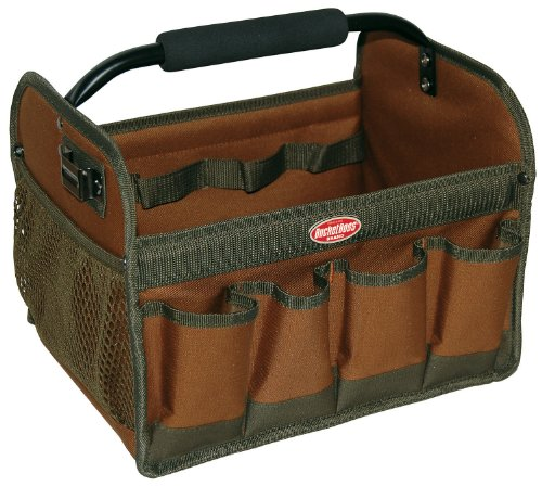 Bucket Boss Bucket Boss 70012 Gatemouth Hard Tote (Canvas Garden Tote)
