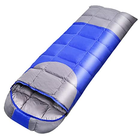 Qys Saco De Dormir Cuatro Estaciones Individual Ultralight Mantener Caliente Sucio Impermeable Cremallera Bidireccional con Bolsa