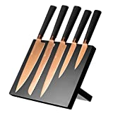 Viners Viners Titan Kitchen Knife Block Set, Copper, 6-Piece