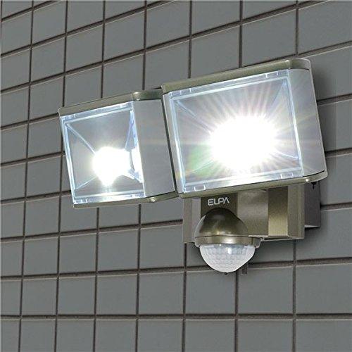ELPA(エルパ) 屋外用センサーライト AC電源 8wLED 2灯 ESL-802AC B01H9RR2WU