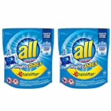 All Laundry Detergent Mighty Pacs Stainlifter (2 Pack)
