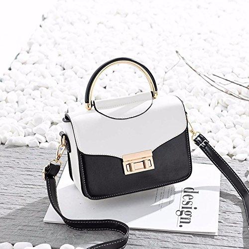 ZHANGJIA La Moda de Primavera y Verano ladies'handbags Simple Bolso de Hombro Bolsas de Damas,Marrón pálido Khaki