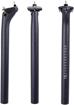ELITA ONE Tija de sillín MTB de Fibra de Carbono, tija de sillín ...