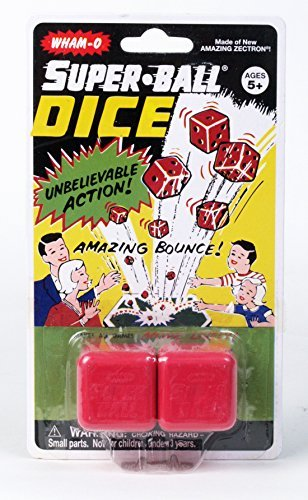Wham-o Vintage Superball Dice (Set of 12) [並行輸入品]   B07J9XG6VC