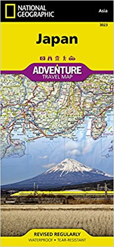 Japan national geographic adventure map national geographic maps flip to back flip to front gumiabroncs Gallery