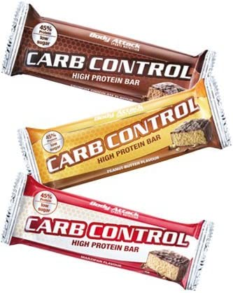 Body Attack Carb Control-Proteinriegel 100g