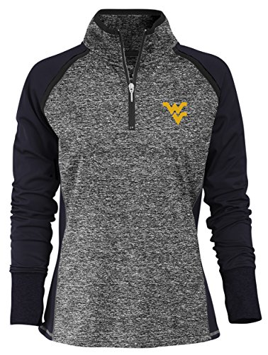 NCAA Finalist Women's Quarter-Zip Pullover West Virginia Mountaineers X-Large (Mountaineer Zip)