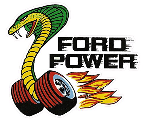 Ford Power Decal is 3.5
