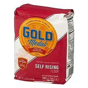 Amazon.com : Gold Medal Unbleached Flour - Self-rising, 80