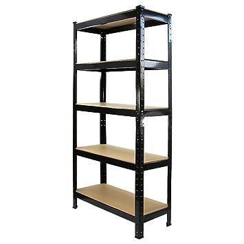 cool trax xx cm x tier tagre de rangement rsistant idal garage with etagere metallique garage. Black Bedroom Furniture Sets. Home Design Ideas