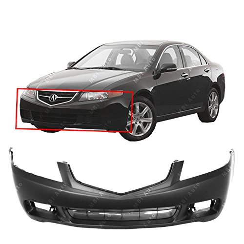 MBI AUTO Primered, Front Bumper Cover Fascia for 2004 2005 Acura TSX 04 05, AC1000145