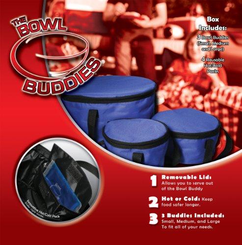 Bowl Buddies Hot or Cold Thermal Dispenser/Carafes ()