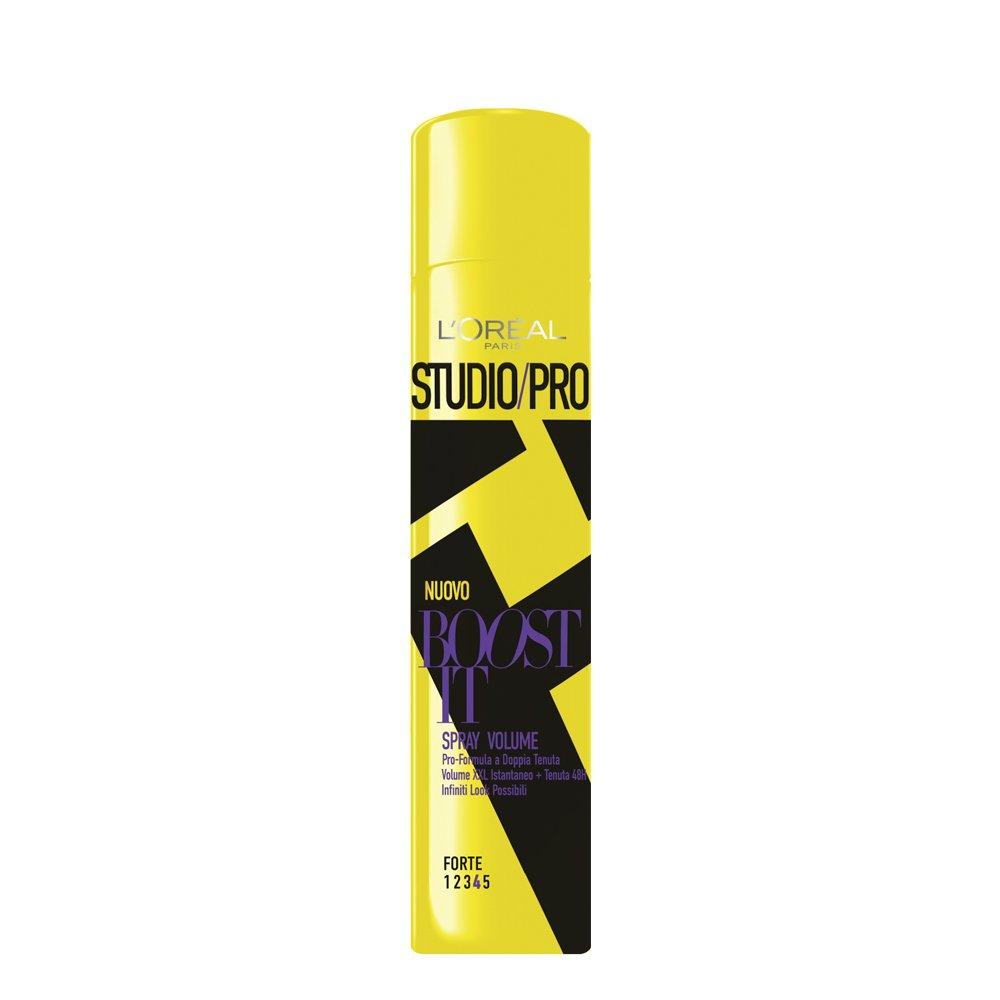 L'Oréal Paris Studio Pro Boost It Spray Volume Tenuta Forte, 400 ml A8579100