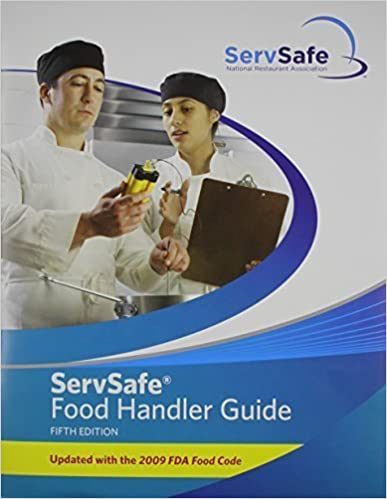 Book ServSafe Food Handler Guide 5th Edition Update (5th Edition) by National Restaurant Association (2010)