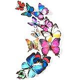 3D butterflies wall decoration - Mixed colors