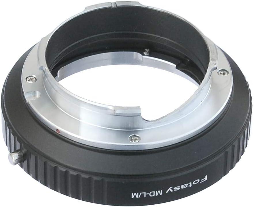 Fotasy Minolta MD/MC Rokkor Lens to Leica M Mount Camera Adapter, fits Leica M9, M8, M7, M6, M5, M4, M3, M2, Ricoh GXR Mount A12