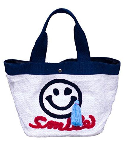 HopeEye mujer Tendencias de la moda Paja Mochila para mujer Bolso de las señoras Bolsa de paja Bolso de Crossbody 2-blanco