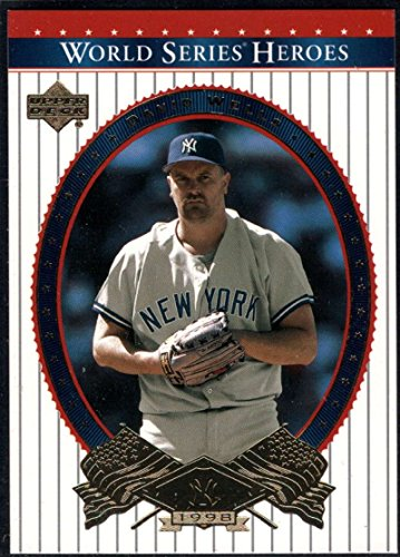 Baseball MLB 2002 Upper Deck World Series Heroes #89 David Wells NM-MT Yankees (Upper Mlb Series Deck)
