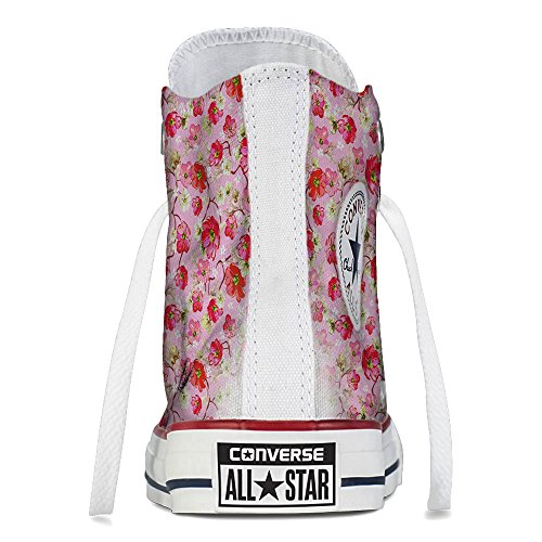 Sneaker Scarpe Converse Personalizzate Flowers Pattern by YourStyle