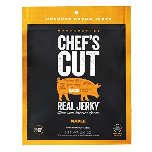 Maple Bacon - Chef's Cut Tender Real Bacon Jerky, Maple, 2 Ounce