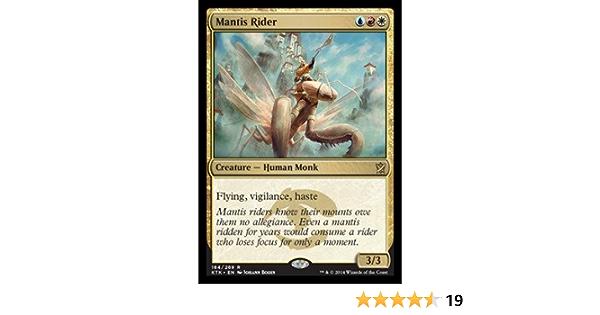 MANTIS RIDER X4 Khans Of Tarkir KTK Magic MTG MINT CARD