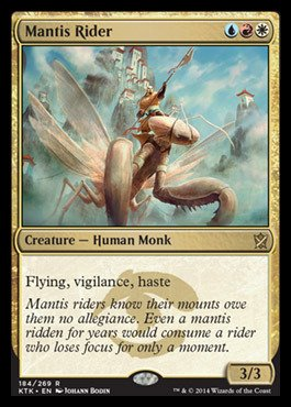 Amazon.com: Magic: the Gathering - Mantis Rider (184/269 ...