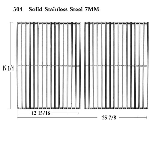 Htanch SE63S2 Stainless Steel Cooking Grid Replacement for S