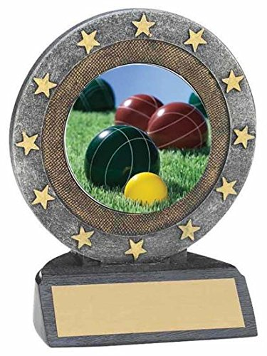 Bocce Ball樹脂Trophy B074F3RL14