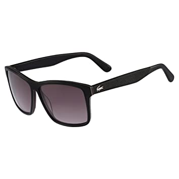 96803afc9c Amazon.com  Lacoste Fine Square Sunglasses in Dark Blue - L705S 424 ...
