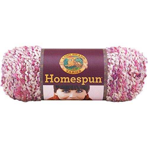 Lion Brand Yarn 790-427 Homespun Yarn, Cherry Blossom