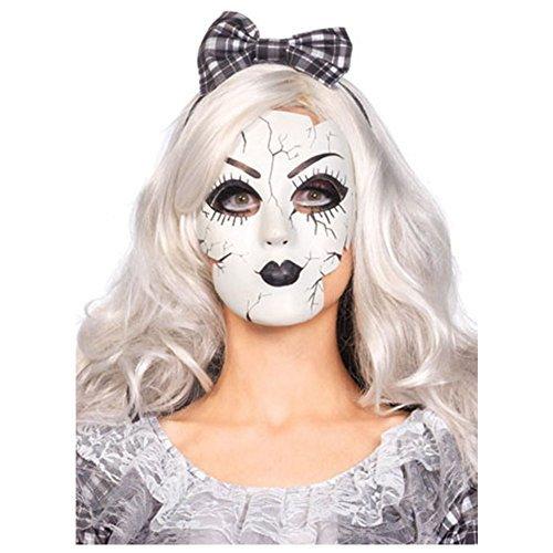 [Porcelain Doll Mask Costume Accessory] (Porcelain Doll Costumes)