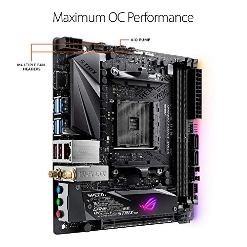 Build My PC, PC Builder, ASUS ROG Strix X470-I Gaming