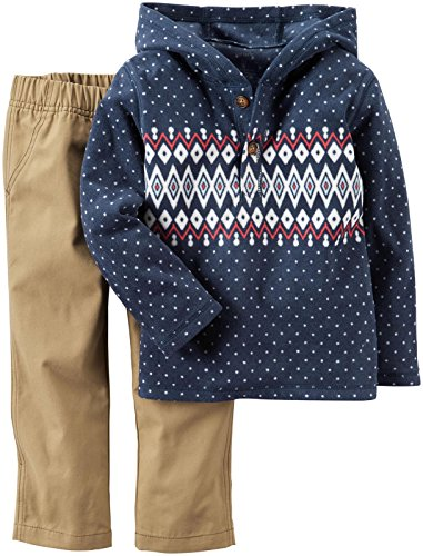 Carter's Baby Boys 2 Pc Playwear Sets 229g268, Print, 9M