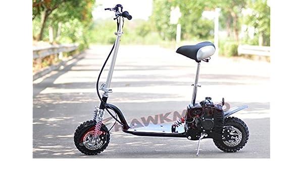 hawkmoto 49 cc gasolina Scooter goped: Amazon.es: Deportes y ...