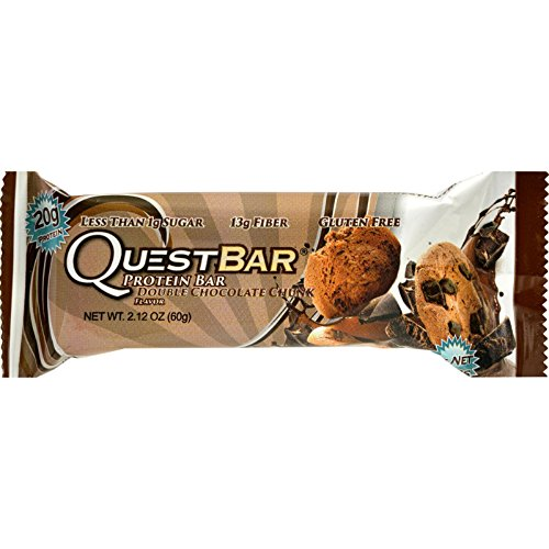 quest double chocolate chunk bars - 9