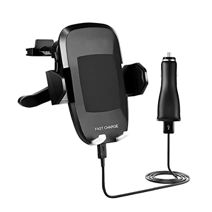 Professional Retractable 2.1A Car Charger Works with Nokia Lumia 1020 has One-Touch Rapid Button System! Digital Media Player Accessories 10 Watt/Black