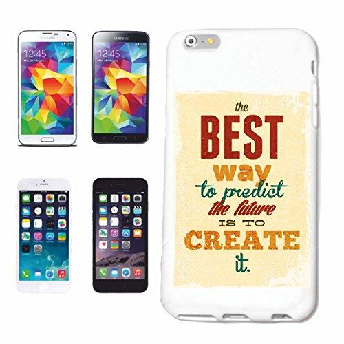 """cas de téléphone iPhone 7S """"LA MEILLEURE FAÇON DE PRÉVOIR L'AVENIR EST DE CRÉER IT VINTAGE LIFESTYLE FASHION GOTHIC BIKER STREETWEAR PARIS MILAN NEW YORK"""" Hard Case Cover Téléphone Covers Smart Cover"""