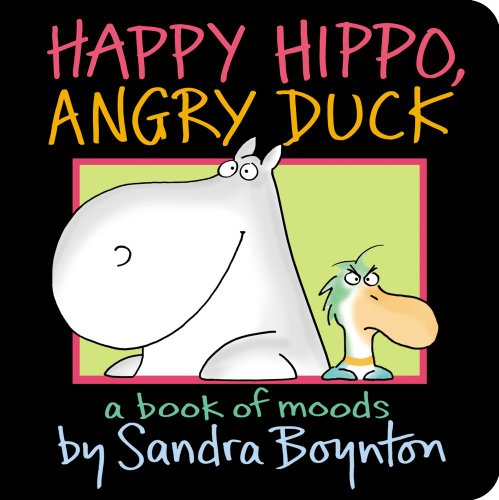 Blue Hat Red Hat (Happy Hippo, Angry Duck: A Book of Moods (Boynton on Board))