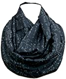 Mathematics infinity scarf for engineers, teachers, nerds, algebra Math birthday gift for her geeky student