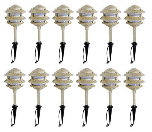 Low Voltage Pagoda Garden Lights - 2