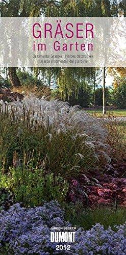 Gräser im Garten - Long Size Kalender 2012
