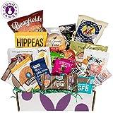 Healthy Snacks Sampler Gift Box: Variety Of Sweet & Savory Gourmet Food Snacks Care Package