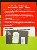 Straight Talk Sim Card (standard size) and Activation Instructions Card for AT&T & Unlocked GSM Phones