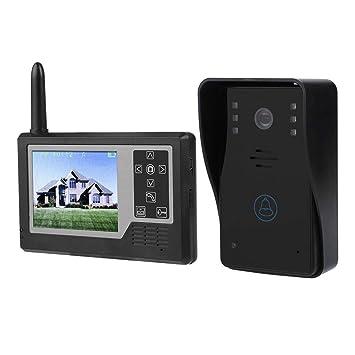Audio Intercom Türsprechstelle 2,4g Digital Wireless Audio Sprechanlage Türklingel Wireless Remote Entsperren