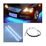 Iuhan Fashion 30cm 12V 15 LED Car Auto Motorcycle Waterproof Strip Lamp Flexible Light