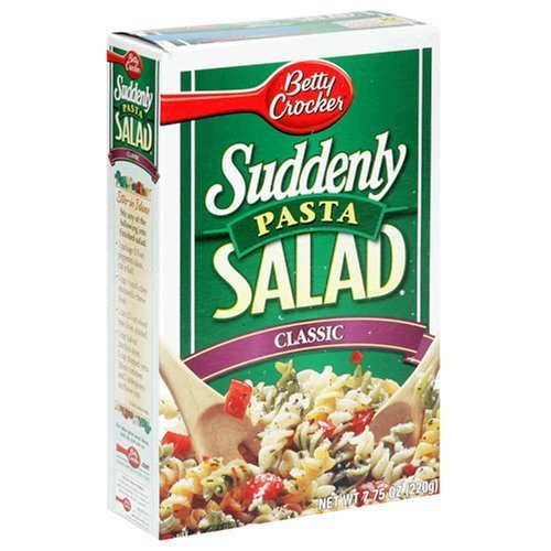 Pasta Favorite - Betty Crocker, Suddenly Salad, Pasta Classic, 7.75oz Box (Pack of 4)